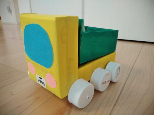 空き箱で車の作り方 ~第3弾 ダンプカー編~