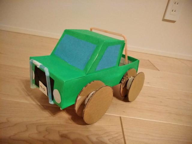 空き箱で車の作り方~第5弾 4WD編~