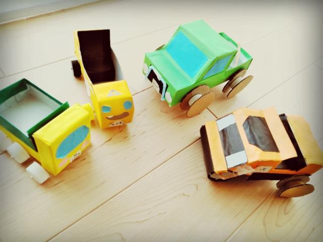 空き箱で車を作るシリーズ裏話~第1弾 空き箱車作りを始めたきっかけ~